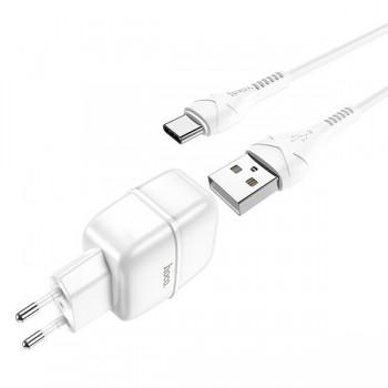 Chargeur Hoco C77A Type 2 Port USB 2.4A - prix tunisie