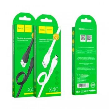 CÂBLE USB HOCO X40 2.4A Pour Micro 1M - prix Tunisie