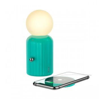 Lampe de bureaux RGB Hoco H8 avec chargeur sans fil 10W MAX - prix Tunisie