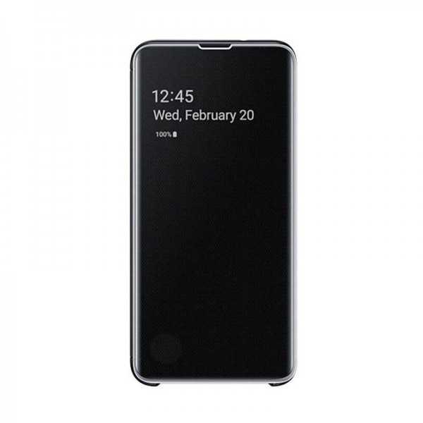 Clear view cover Galaxy S10+ Noir EF-ZG975CBEGWW Tunisie