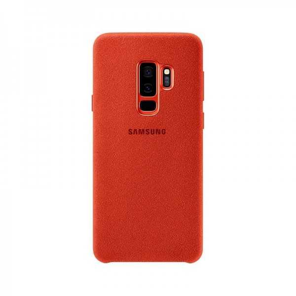 Alcantara Cover Rouge Galaxy s9+ EF-XG9365AREGWW Tunisie