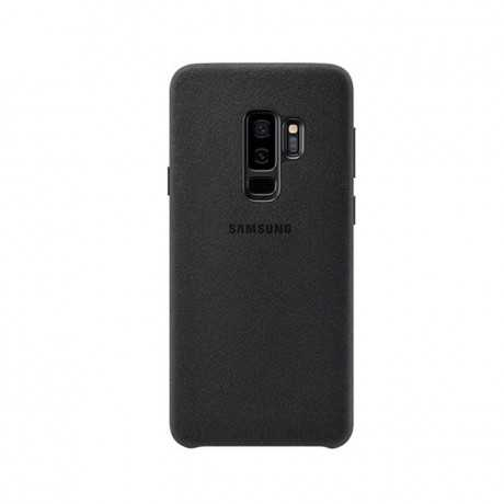 Alcantara Cover Galaxy s9+ Noir EF-XG9365AREGWW Tunisie