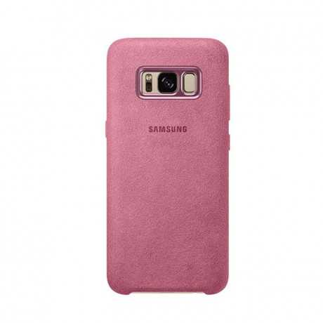Alcantara Cover Galaxy s8 Rose