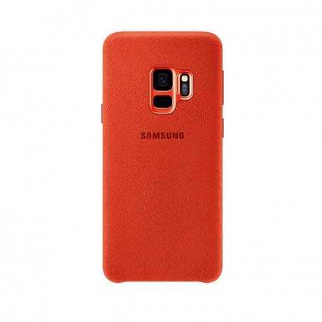Alcantara Cover Galaxy s9 Rouge EF-XG9365AREGWW Tunisie