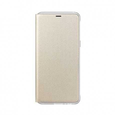Neon Flip Cover Galaxy A8 2018 Gold