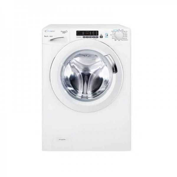 Machine à laver Frontal Candy 8Kg GVS128D3-80 Blanc Tunisie