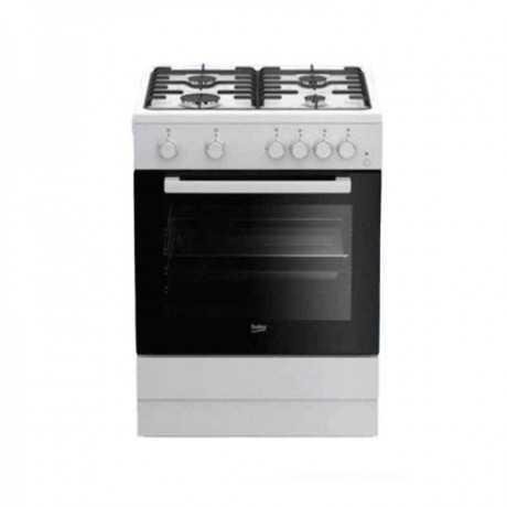 Cuisinière à gaz BEKO FSGT62110GW 60 cm Blanc