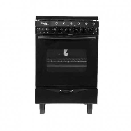 Cuisinière à gaz CONDOR Q4500B 55cm Noir Tunisie