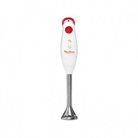 Mixeur Plongeant MOULINEX Turbomix Plus DD101141 Blanc/Rouge Tunisie