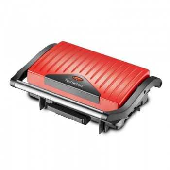 Grill Viande / Panini TECHWOOD TGD-015 Rouge Tunisie