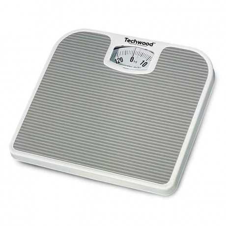 Pèse Personne Mécanique TECHWOOD TPP-520 130Kg - Blanc