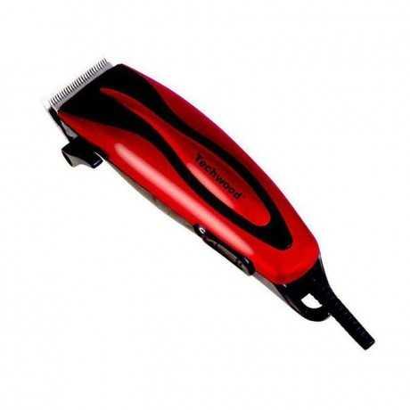 Tondeuse Cheveux et Barbe TECHWOOD TT-615 - Rouge
