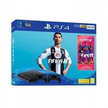 Console PS4 SLIM 500G FIFA19