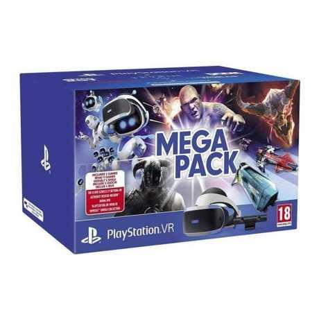Playstation VR Méga Pack Camera+ VR + Codes de Téléchargement 5 Jeux
