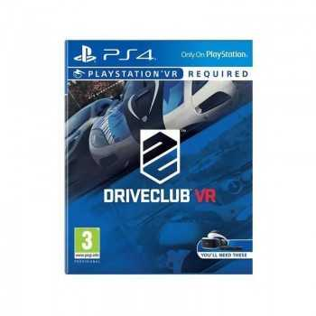 Jeux PS4 DriveClub VR