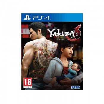 Jeux Yakuza 6 Edition D1 PS4