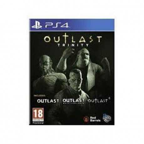 Jeux PS4 Outlast Trinity Survival-Horror
