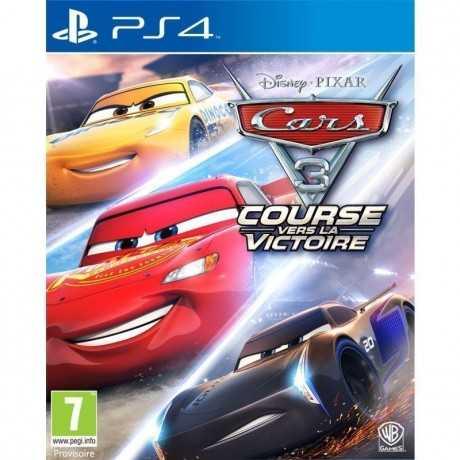 Jeux Cars 3 PS4 Course / Animation