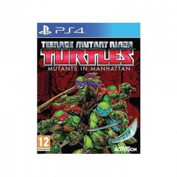 Jeux PS4 Teenage Mutant...
