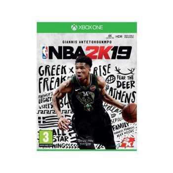 Jeu NBA 2k19 XONE Sport Basket