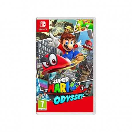 Jeu Super Mario Odyssey Switch Plate-Forme