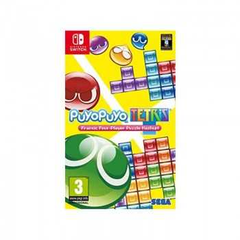 Jeux Puyo Puyo Tetris Switch