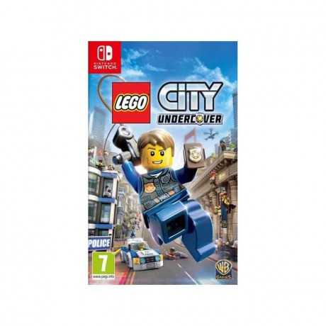 Jeu Switch Lego Undercover Action