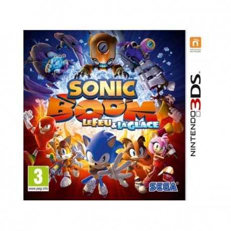 Jeux 3DS Sonic Boom : Le Feu et la Glace
