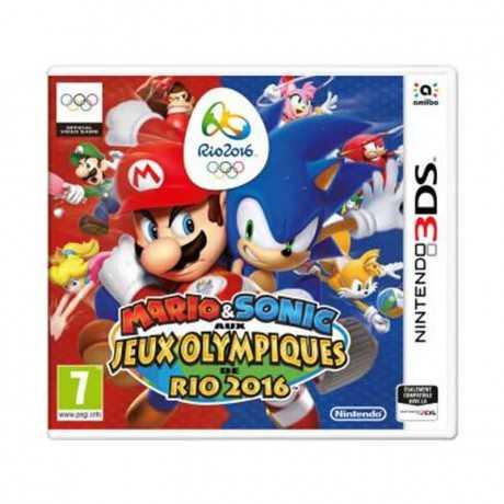 Jeux 3DS Mario & Sonic aux Jeux Olympiques de Rio 2016