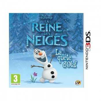 jeux 3DS la Reine Des Neiges: la Quête D'olaf