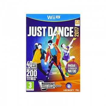Jeux WII U Just Dance 2017