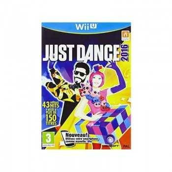 Jeux WII U Just Dance 2016