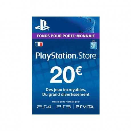 Carte Playstation Gaming PS4 Store -20€