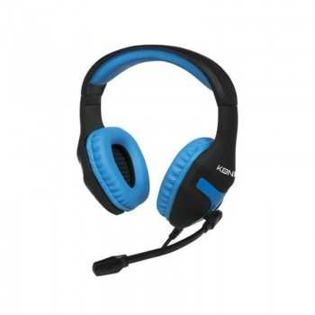 Micro Casque Gaming KONIX PS4 - Noir & Bleu Tunisie