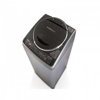 Machine à Laver Toshiba Top Load 15 kg MACH-TSHDC1500SS Silver Tunisie