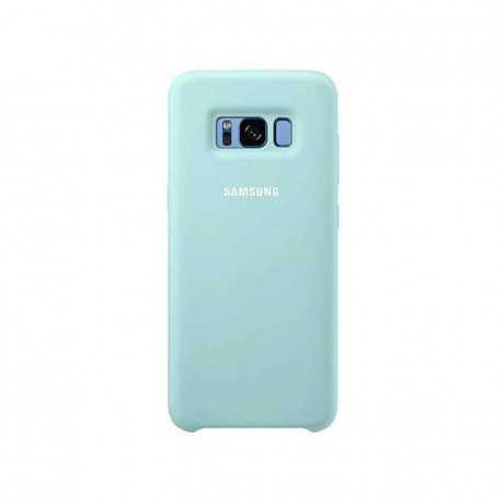 Galaxy S8 Silicone Cover Bleu