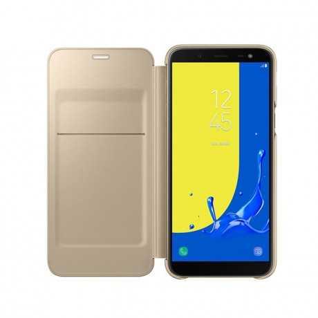 Wallet Cover Galaxy J6 Gold EF-WJ600CBEGWW Tunisie