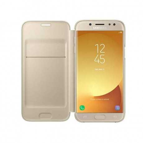Wallet Cover Galaxy J7 Pro Gold EF-WJ730CBEGME Tunisie