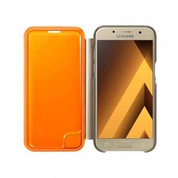 Neon Flip Cover A7 2017 Gold