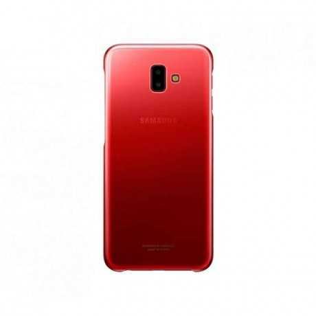 Galaxy J6+ Gradation Cover Rouge EF-AJ610CREGWW Tunisie