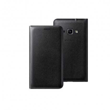 Etui rabat Samsung Galaxy J1 Noir EF-FJ100BBEGWW Tunisie