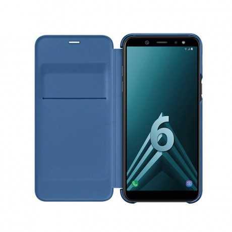 Wallet cover A6 bleu