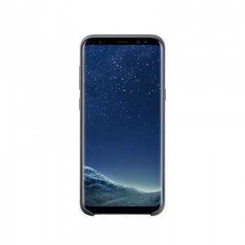 Galaxy S8+ Silicone Cover Noir