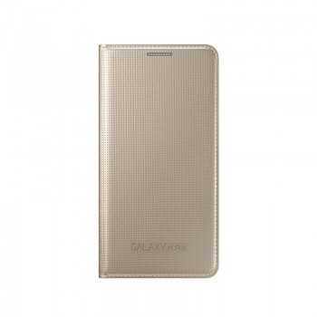 Galaxy ALPHA Flip Cover Gold