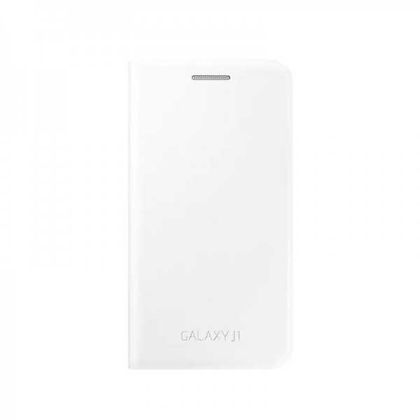 Etui rabat Samsung Galaxy J1 Blanc EF-FJ100BBEGWW  Tunisie
