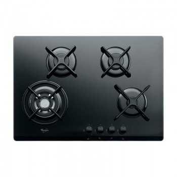 Plaque de cuisson Whirlpool 4 feux AKT 5000 NB Noir Tunisie