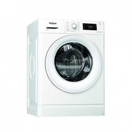 Machine à laver Frontale WHIRLPOOL 9 kg FWG91284W NA Blanc tunisie