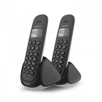Téléphone Sans Fil DECT LOGICOM DUO 250 - Noir