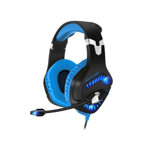Micro-casque Spirit Of Gamer Elite H40 - Bleu Tunisie