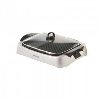 Barbecue Health Grill Electrique KENWOOD 2000W HG266 Silver Tunisie